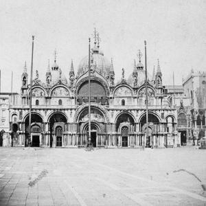 St Mark's Basilica, Venice, Italy, Late 19th or Early 20th Century