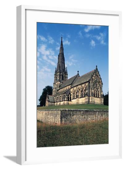 St Mary's Church--Framed Giclee Print