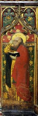 St. Matthew, Detail of the Rood Screen, St. Agnes Church, Cawston, Norfolk, Uk
