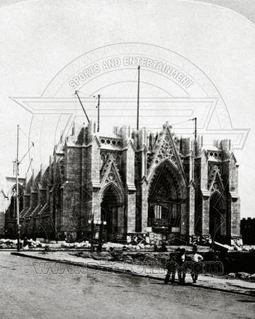 St. Patrick Cathedral under Construction