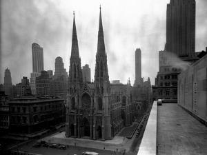 St. Patrick's Cathedral, Rooftop View