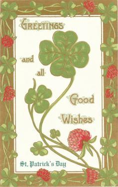 St. Patricks Day, Greetings, Etc.
