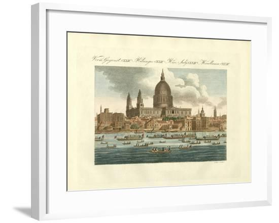St. Paul's Cathedral in London--Framed Giclee Print