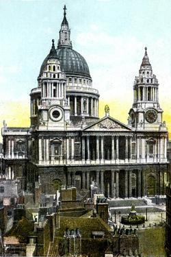 St Paul's Cathedral, London, 20th Century