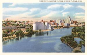 St. Paul Skyline, Minnesota