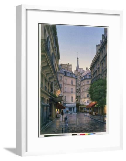 St. Severin, 1999-Frederick Brosen-Framed Giclee Print