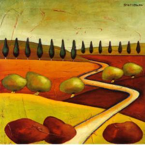 Roads IV by Stacy Dynan