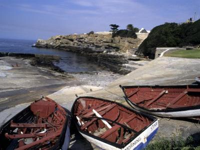 Boats Decorate the Edge of Walker Bay in Hermanus, South Africa, Hermanus, Republic of South Africa by Stacy Gold
