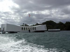 Memorial of Pearl Harbor, Hawaii by Stacy Gold
