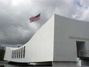 Monument of Pearl Harbor, Hawaii by Stacy Gold