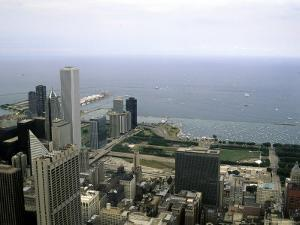 View from the Sears Tower in Chicago, Illinois by Stacy Gold
