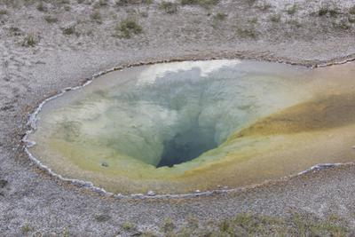View into the Clear Pool of Water of a Geyser by Stacy Gold