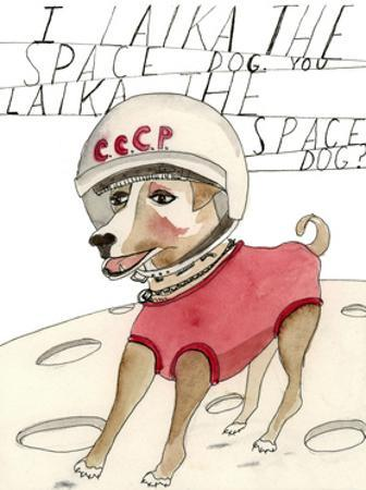 Laika, The Space Dog by Stacy Milrany