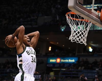 Miami Heat v Milwaukee Bucks by Stacy Revere