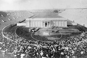 Stadium, Harvard University, Cambridge, Massachusetts, USA, Early 20th Century