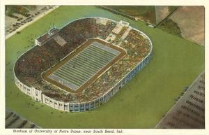 Stadium, Notre Dame, South Bend, Indiana