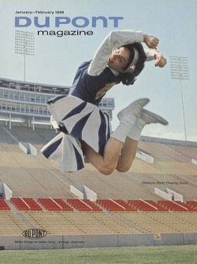 Stadiums Worth Cheering About, Front Cover of 'The Du Pont Magazine', January-February 1968
