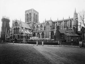 General view of York Minster, 1984 by Staff