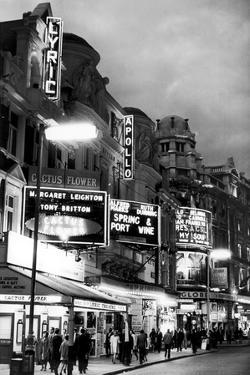 Theatre's of London's West End, 1967 by Staff