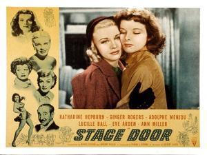 Stage Door, Ginger Rogers, Katharine Hepburn, 1937