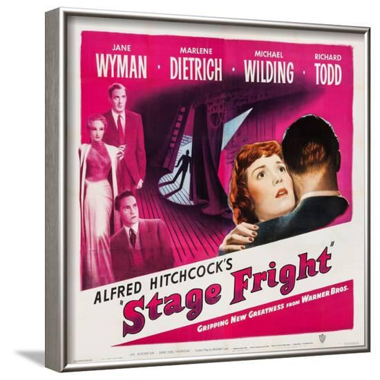 Stage Fright, 1950--Framed Art Print
