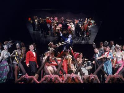 """Stage Production of the Musical """"Cabaret"""" Starring Joel Gray"""