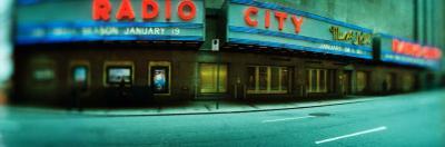 Stage Theater at the Roadside, Radio City Music Hall, Rockefeller Center, Manhattan, New York