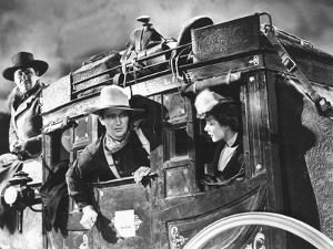 Stagecoach, George Bancroft, John Wayne, Louise Platt, 1939, On The Stagecoach