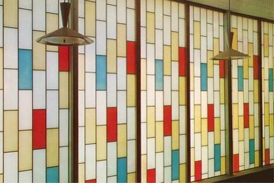 Stain Glass Partition