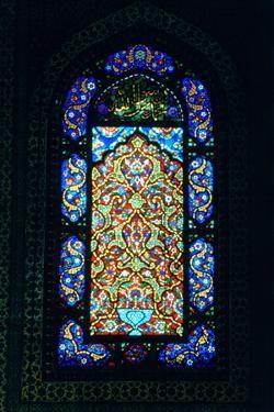 Stained Glass Window, Suleymaniye Mosque, 1557