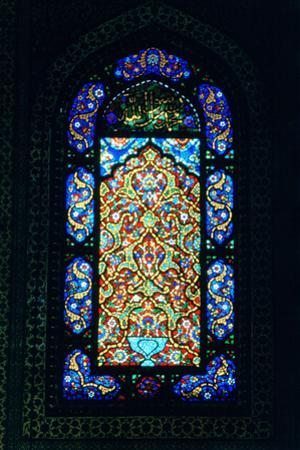 Stained Glass Window, Suleymaniye Mosque, 1557