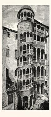 Staircase of the Fifteenth Century: Contarini Palace Venice