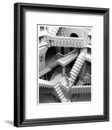 Stairs Series One--Framed Art Print
