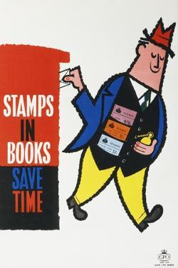 Stamps in Books Save Time
