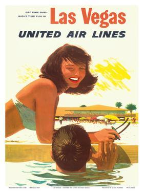 Las Vegas - United Air Lines by Stan Galli