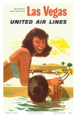 Las Vegas - United Air Lines by Stan Galli