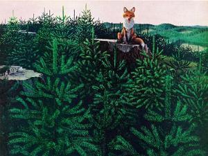 Mischevious Red Fox by Stan Galli
