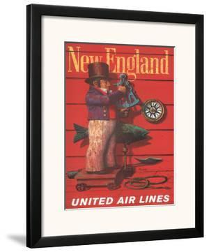 United Air Lines: New England, c.1955 by Stan Galli