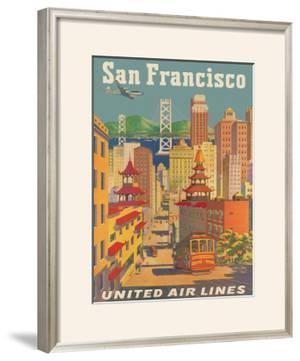 United Airlines: San Francisco, c.1950 by Stan Galli
