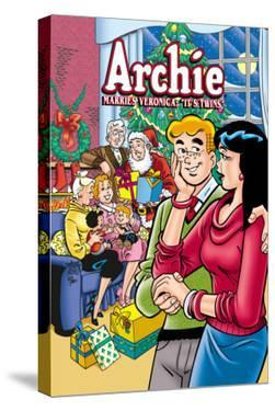 Archie Comics Cover: Archie No.602 Archie Marries Veronica: It's Twins. by Stan Goldberg