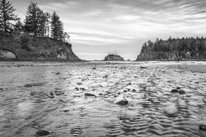 Sunset Bay BW by Stan Hellmann