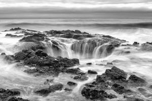 Thors Well BW by Stan Hellmann