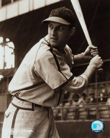 Stan Musial -Batting stance, posed sepia