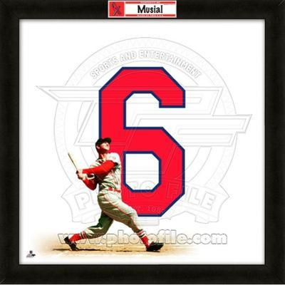Stan Musial, Cardinals representation of the player's jersey