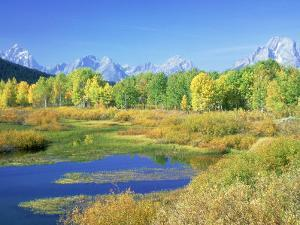 Teton Range, Grand Teton National Park, USA by Stan Osolinski