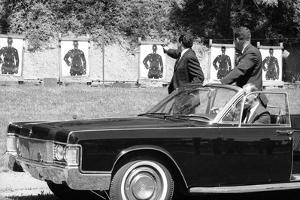Secret Service Agents in Training, National Aboretum, Washington DC, 1968 by Stan Wayman