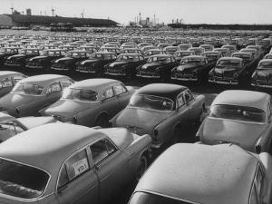Shipment of Swedish Volvo Cars to USA by Stan Wayman