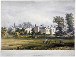 Dulwich College, London, C1830 by Standidge & Co