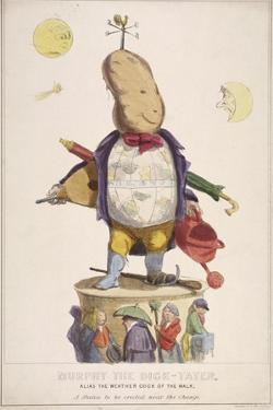 Murphy the Dick-Tater, Alias the Weather Cock of the Walk, 1837 by Standidge & Co
