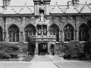 Oriel College, Oxford by Staniland Pugh